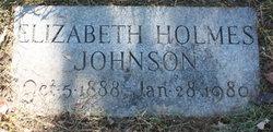 Elizabeth Holmes Johnson