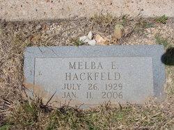 Melba <I>Hagood</I> Hackfeld