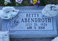 Betty June <I>Barbee</I> Abendroth