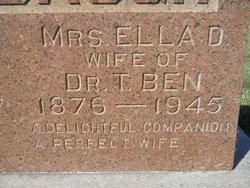Mrs Ella D. Turnbaugh
