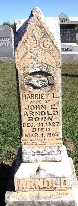 Harriett Langsdon <I>Gallaher</I> Arnold