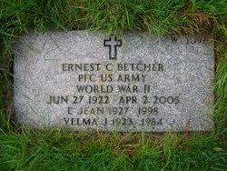 E Jean <I>Welp</I> Betcher