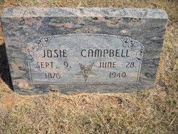 "Susan Josephine ""Josie"" <I>Jones</I> Campbell"