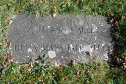 """Adelia I """"Delia"""" <I>Marshall</I> Alley"""