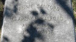Fannie <I>Sanford</I> Alford