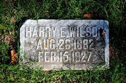 Harry E. Wilson
