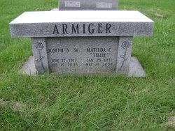 """Matilda C """"Tillie"""" <I>Lautenberger</I> Armiger"""