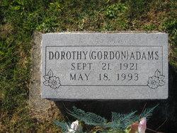 Dorothy <I>Gordon</I> Adams