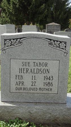 Sue Sharon <I>Heraldson</I> Tabor