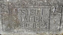 Ester E Tabor