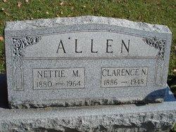 Nettie M. <I>Robinson</I> Allen