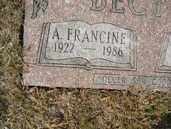 Alice Francine Becton