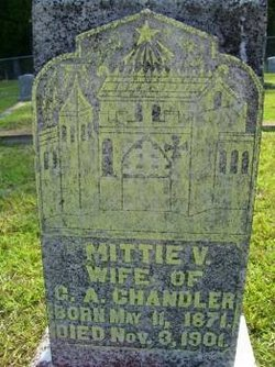 Mittie V. <I>Carter</I> Chandler