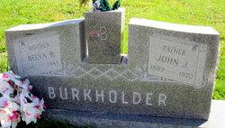Belva Roberta <I>Weddle</I> Burkholder