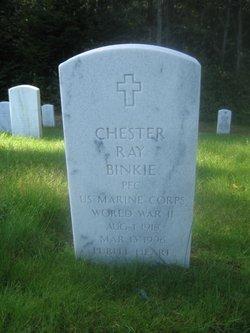 PFC Chester Ray Binkie