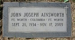 "John Joseph ""Joe"" Ainsworth"