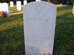 Paula <I>Williams</I> Cubie