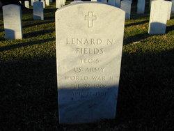 Lenard N Fields