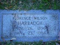 Florence <I>Wilson</I> Harbaugh