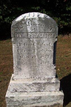 Fannie B. Blacksten