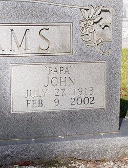 """John """"Papa"""" Adams"""