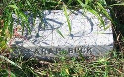 Sarah H Buck