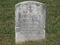 Corp Bernard Francis Mackin