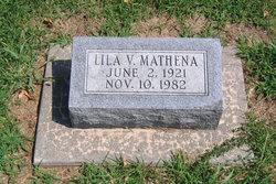 Lila V. <I>Baumgartner</I> Mathena