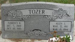 Florence H Tozer