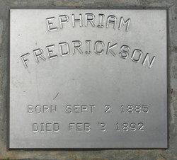 Ephraim Fredrickson