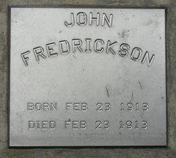 John Fredrickson