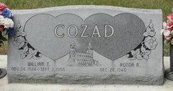 William T Cozad