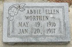 Abbie Elnora Worthen
