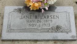 Jane <I>Blackburn</I> Larsen