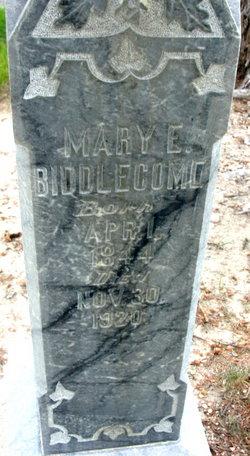 Mary Elizabeth <I>Davis</I> Biddlecome