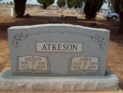 Edith Aileen <I>Royal</I> Ketchersid Atkeson