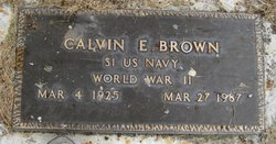 Calvin E Brown