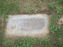 Ruth Barron <I>Humphrey</I> Aborn