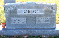 Lula Mae <I>Burns</I> Barton