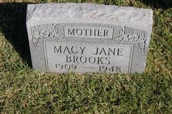 Macy Jane <I>Hawkins</I> Brooks