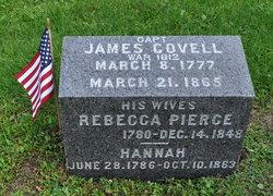 Capt James Covell, Sr
