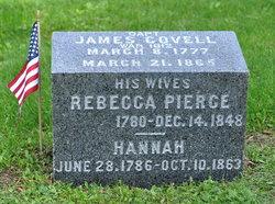 Rebecca B. <I>Pierce</I> Covell
