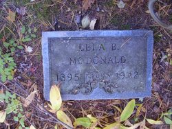 Lela Belle <I>Gregory</I> McDonald