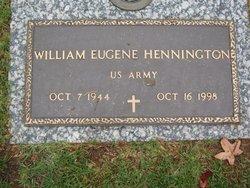 William Eugene Hennington