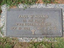 Paul W Adams