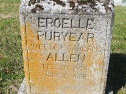 Ercelle <I>Puryear</I> Allen