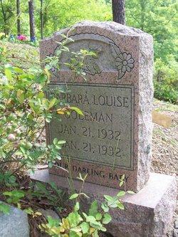 Barbara Louise Coleman