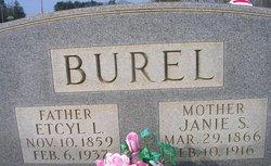 Janie Safronia <I>Puckett</I> Burel