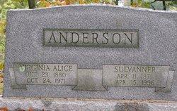 Virginia Alice <I>ONeil</I> Anderson