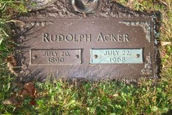Rudolph Acker